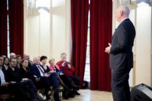 Honorary Doctor of KTU Klaus Schwab: Industry 4.0 Must be Followed by Education 4.0