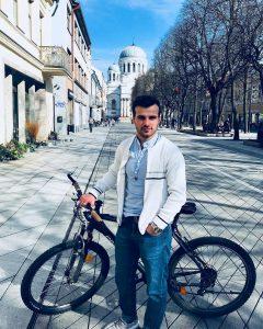 Avtandil Arabuli, KTU student from Gerogia