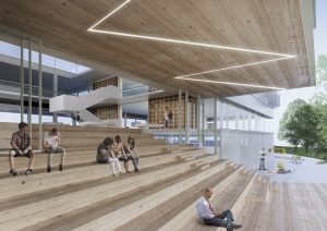 The landmark of sustainable architecture KTU M-Lab to be opened in 2022