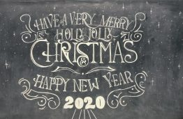 Happy Holidays! And best wishes for 2020