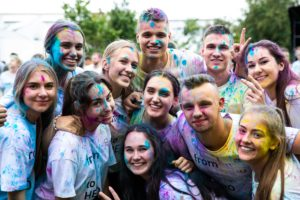 Moments from Welcome Week at KTU campus