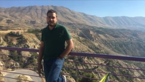 Nicolas Drouby, KTU student from Lebanon